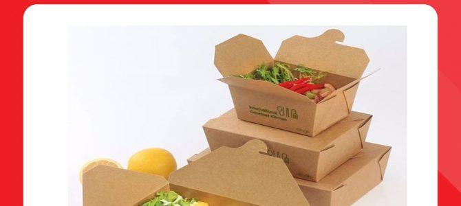 In hộp giấy đựng thức ăn nóng